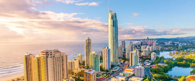 Indrukwekkende time-lapse video van de Australische stad Gold Coast