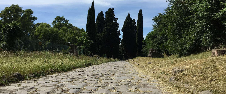 Fietsen over de Via Appia, de oudste weg naar Rome