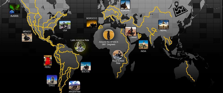 Unieke video van een wereldreiziger: Around the World in 360° Degrees