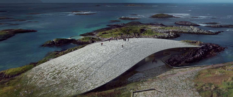 Noorwegen krijgt een waanzinnig mooi walvissenmuseum