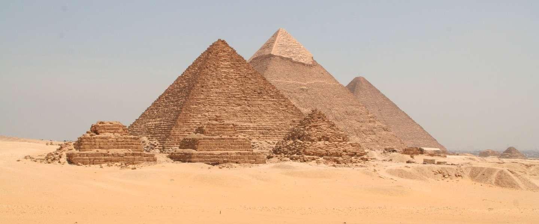 Het Enige Klassieke Wereldwonder Dat Nog Bestaat De Piramide Van Cheops