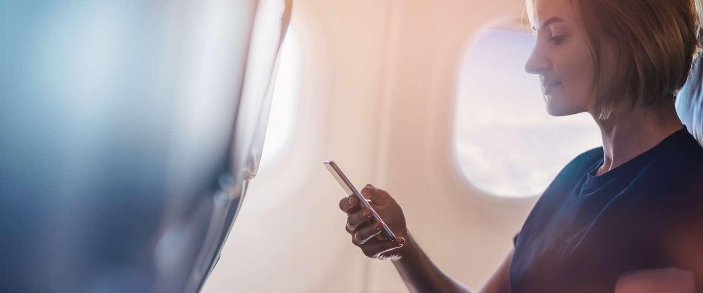 WiFi in het vliegtuig neemt een hoge vlucht: meer en goedkoper
