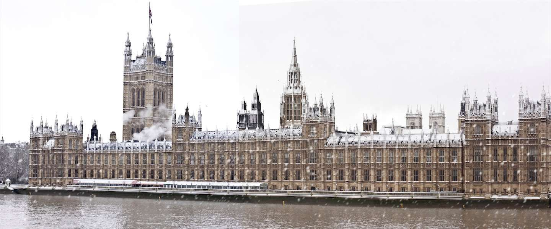 Winter in Londen