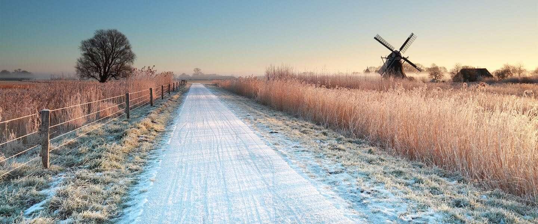 Op deze 7 plekken is Nederland in de winter het mooist