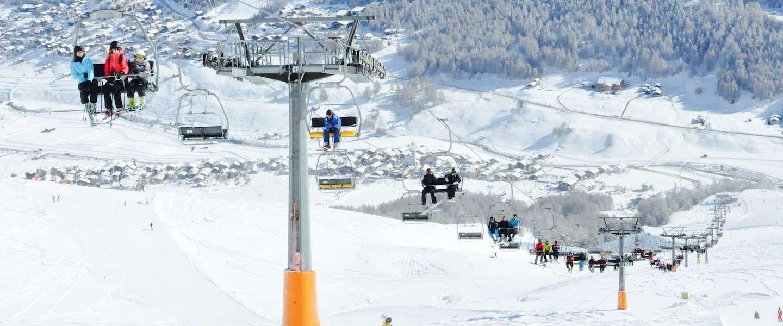 Het weer in de wintersportgebieden