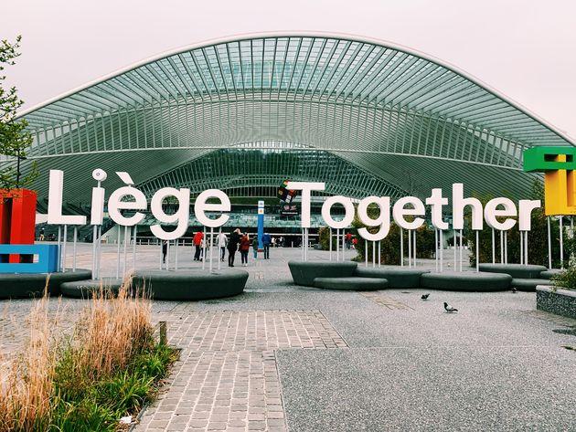 Treinstation Luik