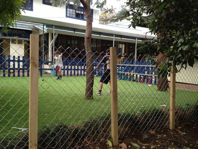Voetbal-kids