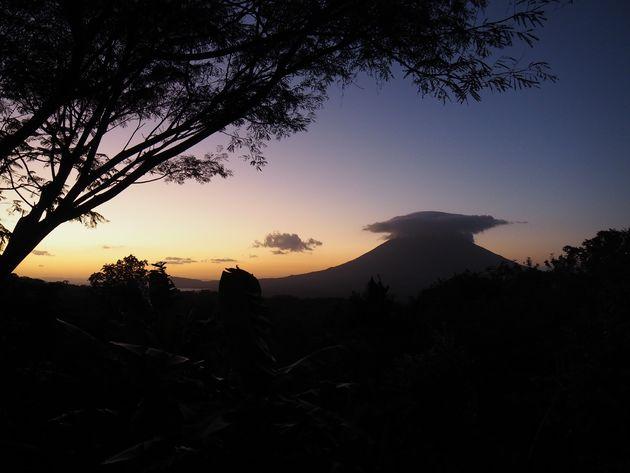 10. zonsondergang Ometepe