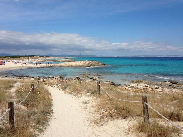 2. Strand Formentera
