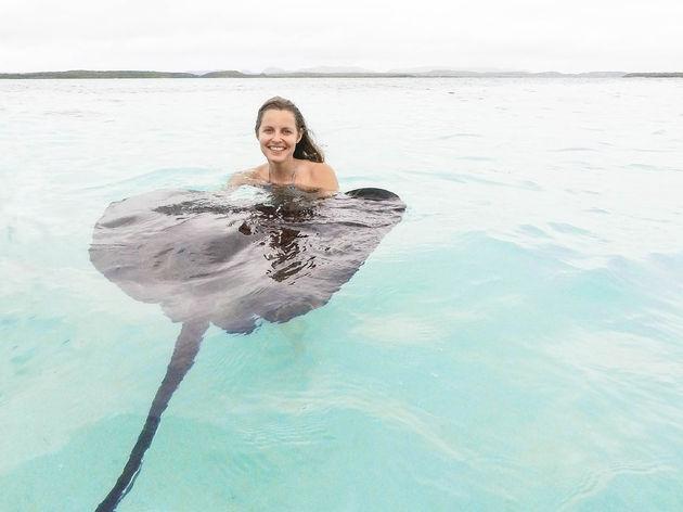 antigua-caribisch-eiland-zwemmen
