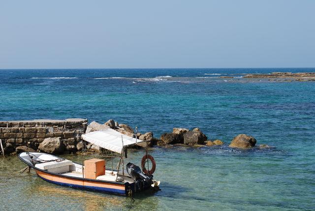 Caesarea - baai