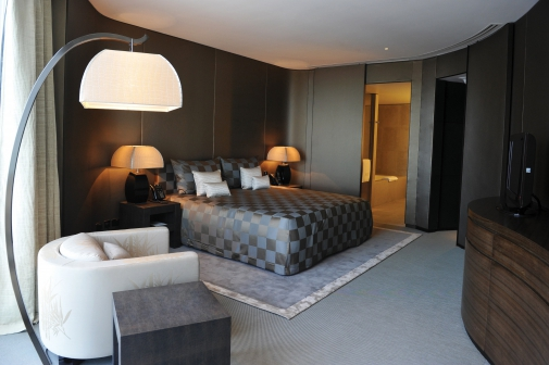 Slaapkamer Hotel Stijl : Het armani hotel in dubai: onvergetelijk