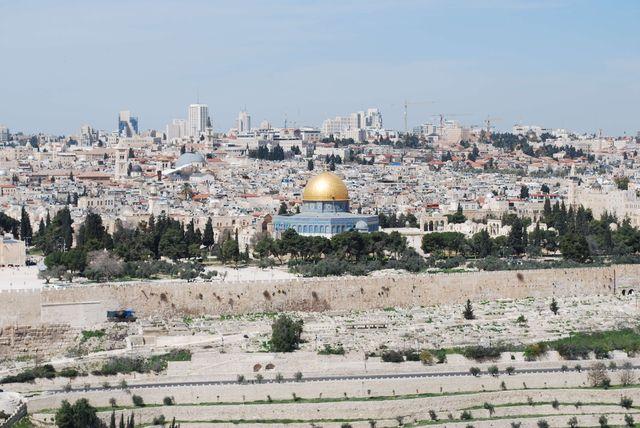 Uitzicht op Jeruzalem