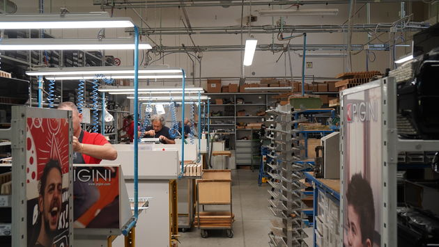 accordeonfabriek_Pigini_Castelfidardo_Werkplaats