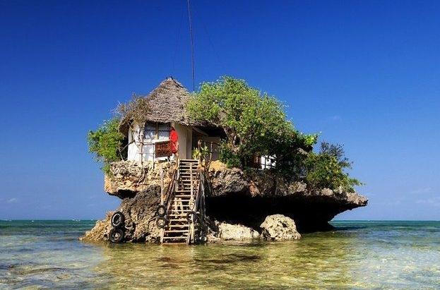 Zanzibar-rotsbar