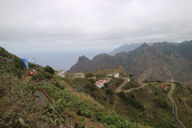 Anaga hike uitzicht
