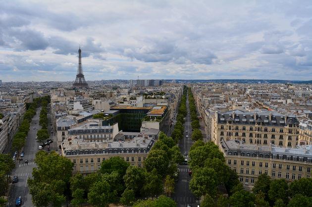 Arc-de-Triomph-uitzicht