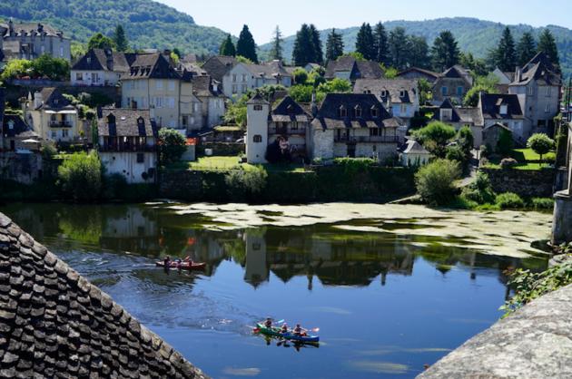Argentat_rivier_Dordogne