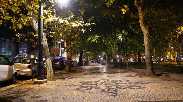 Avenida_de_Liberdade_avond_Lissabon