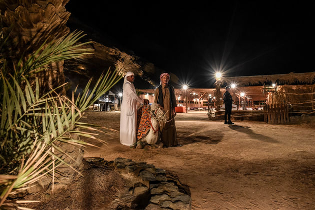 avond-woestijn