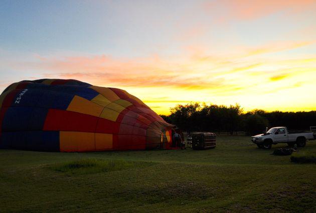 ballon-vroeg-ochtend