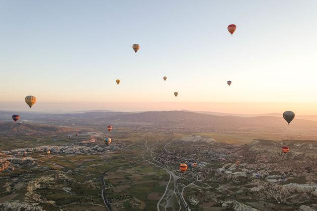 ballonvaart-Cappadocië.