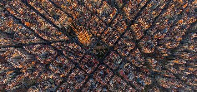 barcelona-lucht