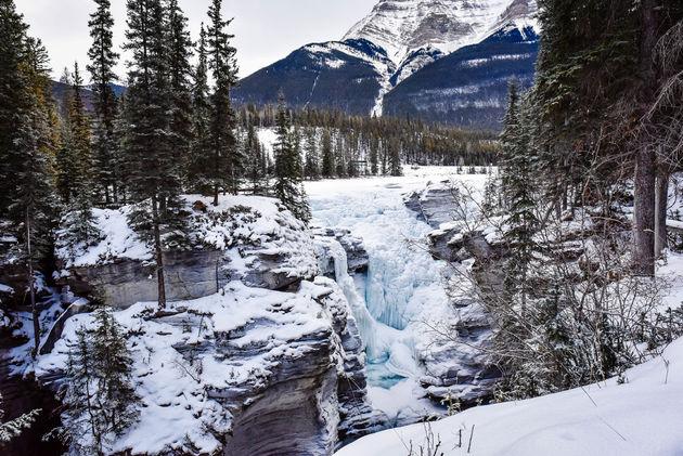 bevroren-watervallen