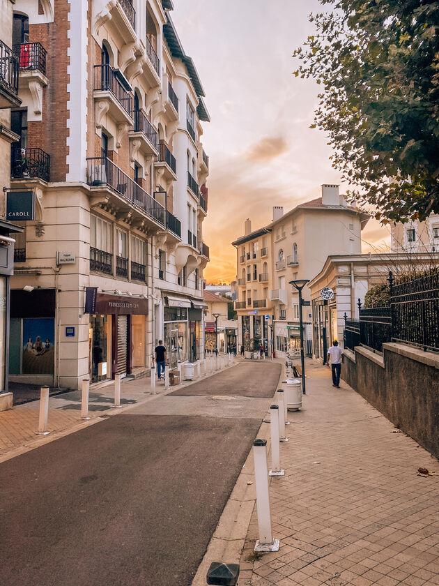 biarritz-avond