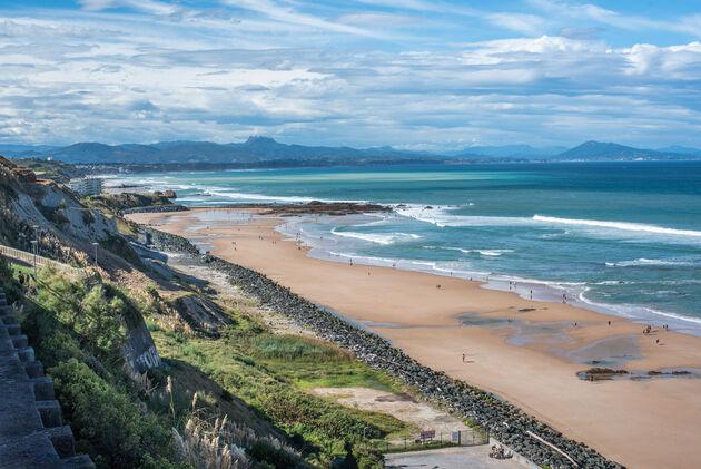 biarritz-uitzicht-spanje