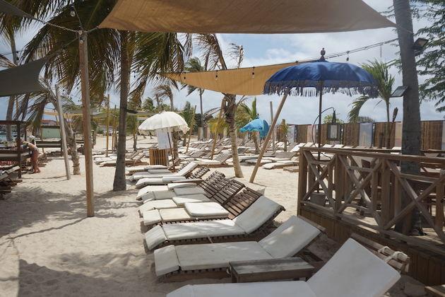 Bonaire-strand-relax