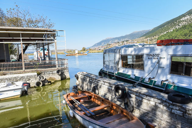 boot-meer-Ioannina