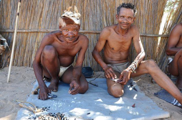 bosjesmannen-sieraden