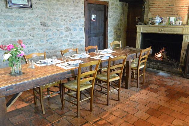 Bourgondisch lunchen bij Ferme Auberge