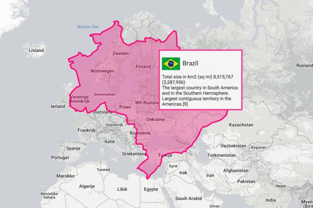 brazilie-kaart-europa