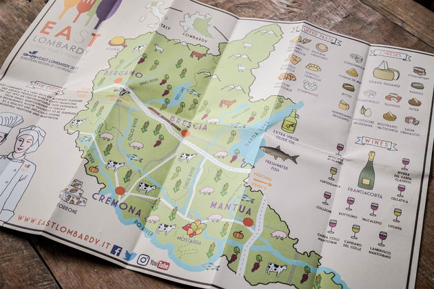 Brescia-italie-kaart