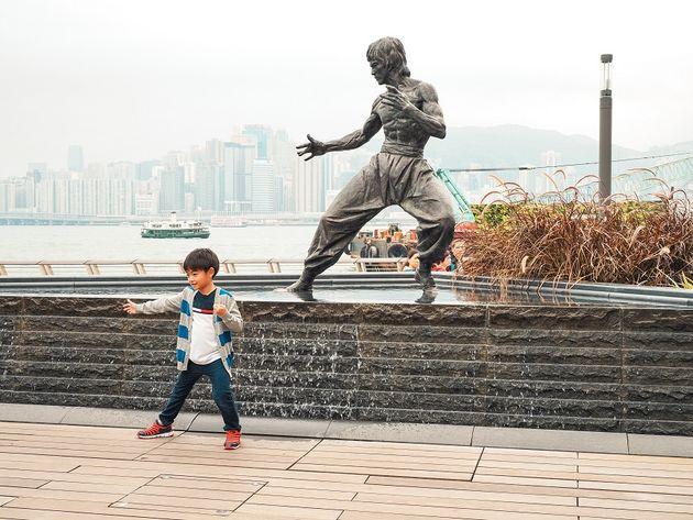 Bruce Lee Avenue of Stars Hongkong