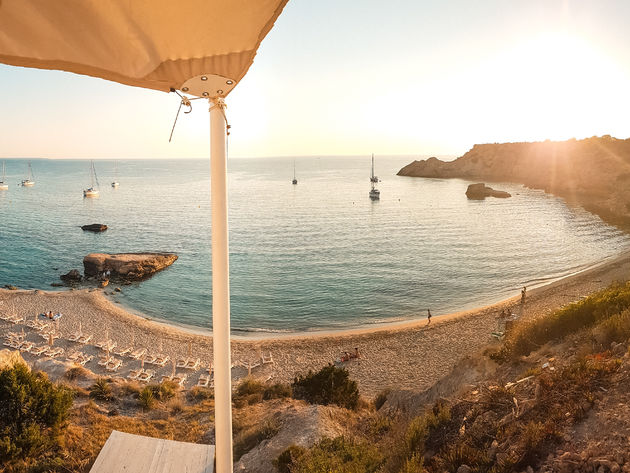 Cala Tarida Cotton Beach Club westen Ibiza (1)