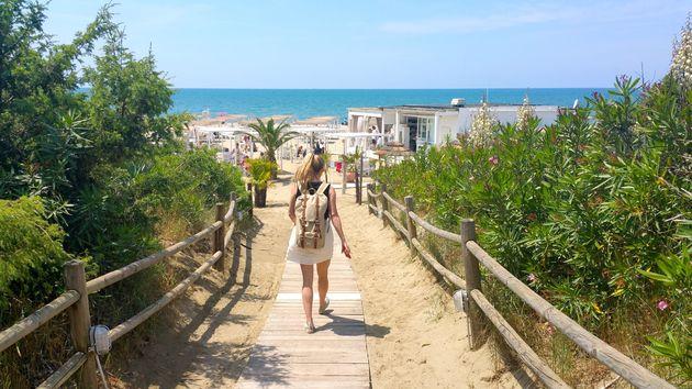 calambrone-strand-italië