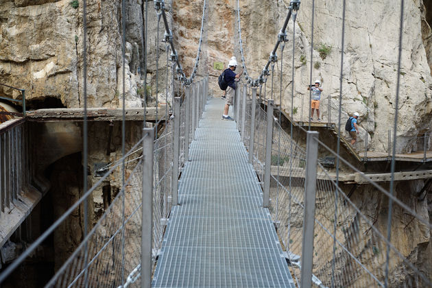 Caminito del Rey hangbrug