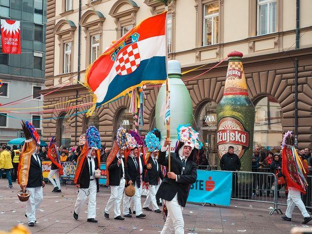 Carnavalsoptocht Rijeka Kroatie (3)