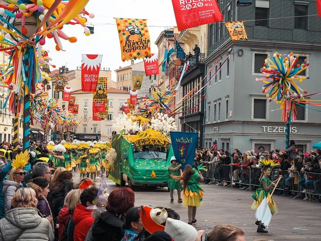 Carnavalsoptocht Rijeka Kroatie (4)