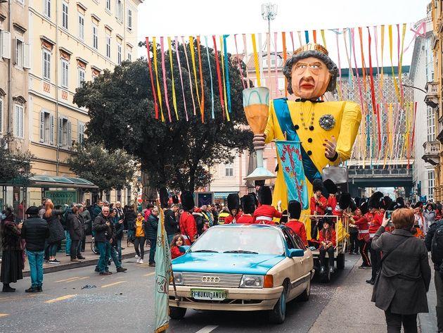 Carnavalsoptocht Rijeka Kroatie