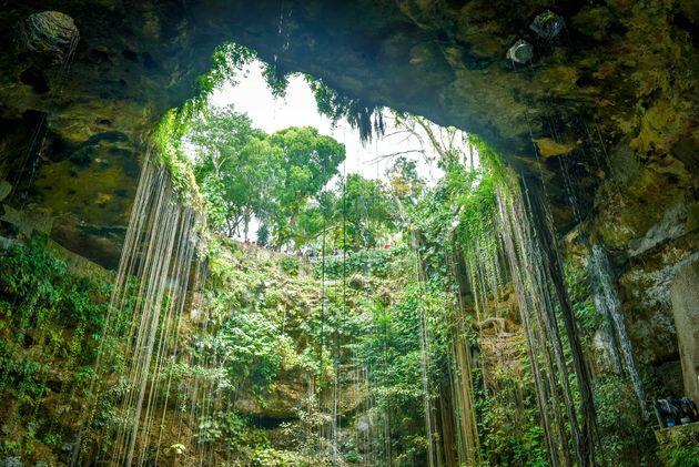 cenote-ik-kil-hoogte