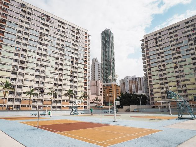 Choi Hung Estate Hongkong