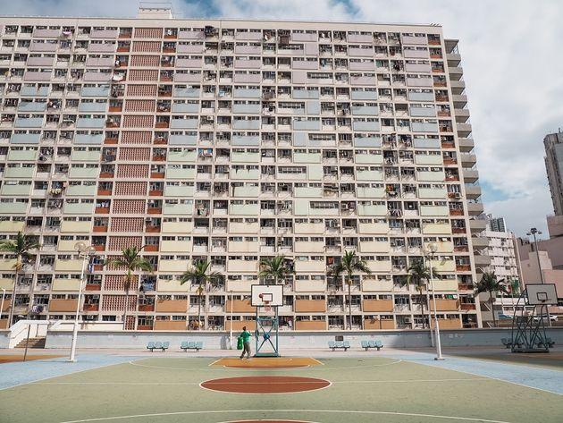 Choi Hung Estate Hongkong basketballen