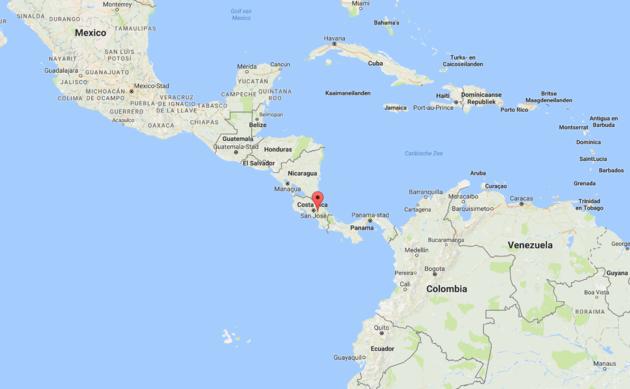 costa-rica-kaart