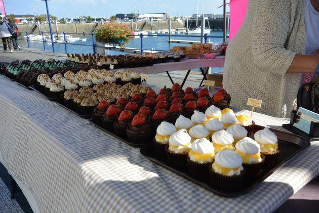 Cupcakes bij Seafront Sunday