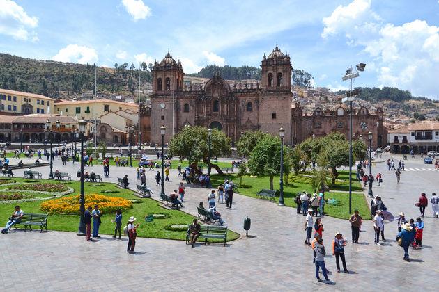 Cusco-centraal-plein