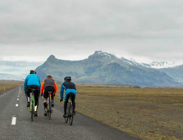 Cyclothon-ijsland